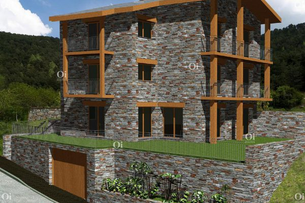 town house in Andorra